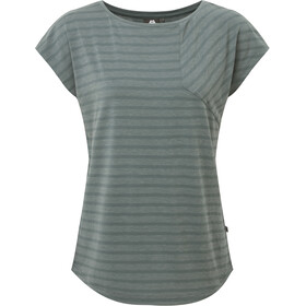 Mountain Equipment Silhouette T-shirt Femme, moor stripe/moorland